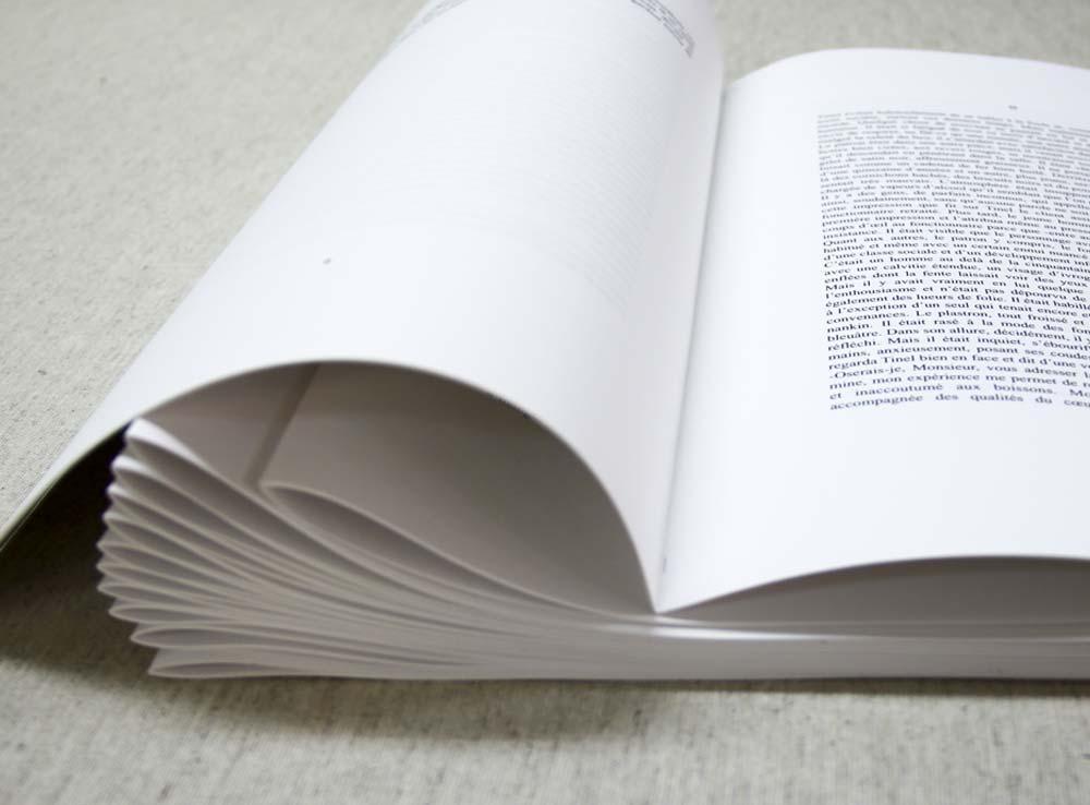 Impressions en cahiers