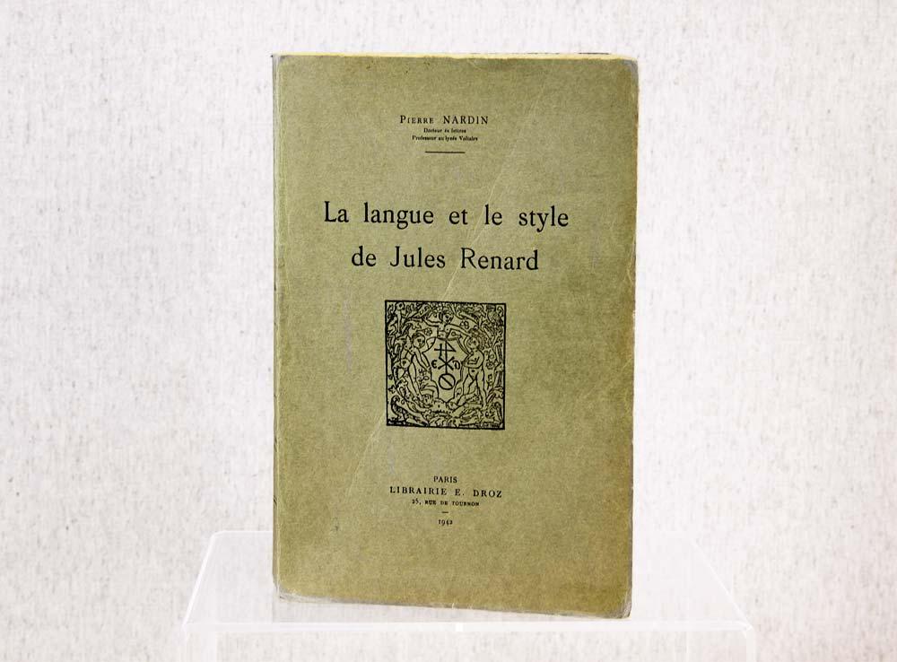 Brochure ancienne d'un bibliophile