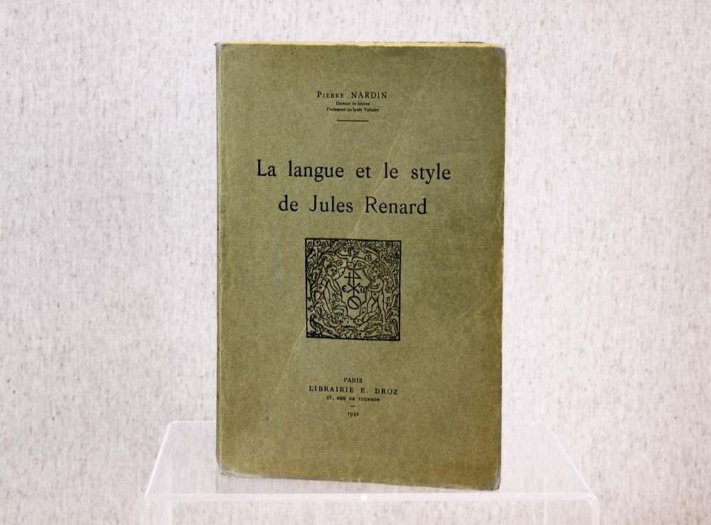Livre Broche Ancien Bon Etat Reliure Houdart